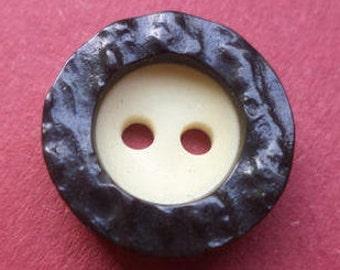 10 buttons 15mm dark brown (3997) brown beige