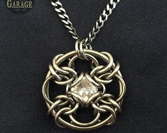 Forbidden Eye Crystal Knot - Jen Irwin Original Design!