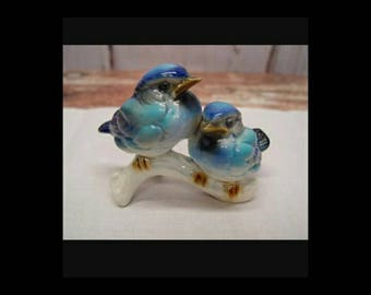 Vintage Goebel Bluebirds on Branch # 38135-08
