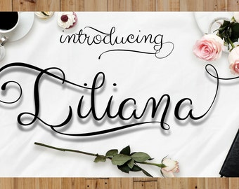 Digital font script calligraphy swirly font download swash