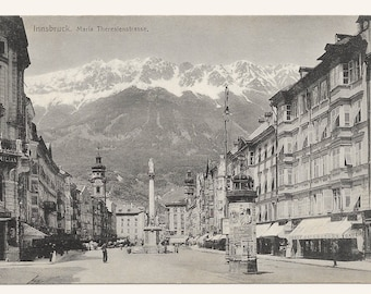 Innsbruck, Austria Photo Postcard, c. 1910