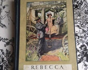 Vintage Rebecca of Sunnybrook Farm by Kate Douglas Wiggin 1930s
