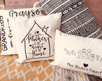 Custom Pillow Covers
