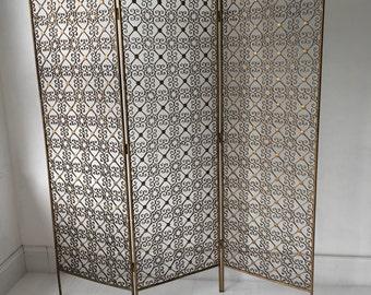 Ornate vintage room divider, screen