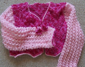 Bolero for girl in two colors