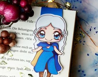 "Magnetic bookmark Khaleesi ""Daenerys Targaryen"""