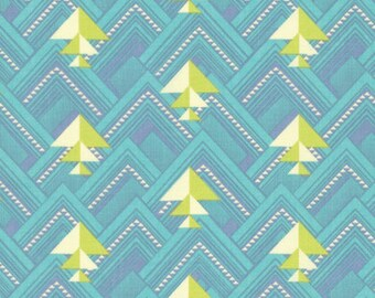 Amy Butler Splendor Head North Celestial Mist PWAB171 100% Quilters Cotton - You choose the Length