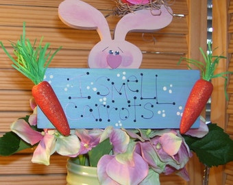 Bunny Rabbit: Woody Wabbit Flower Poke
