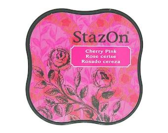 Ink permanent Cherry Pink - StazOn Midi - Ref TSSZM081 - until the stock!