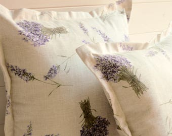 Purple lavender pillow, decorative pillow, violet lavender, lavender pillow, decorative pillow, lavender pillow, spring, purple lavender,