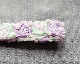 Purple Mint Baby Headband  , Newborn Baby Headband ; Photo Prop dainty Headband