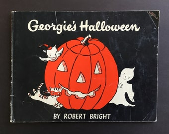 Vintage, Georgie's Halloween softcover Book, 1958