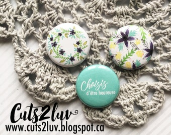 "3 buttons 1 ""choose happy"