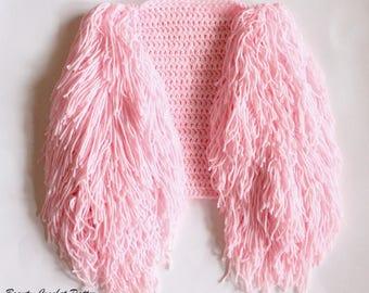 Crochet Vest Pattern, Vest Patterns, Fringe Vest Pattern, Crochet Cardigan Pattern, Toddler Vest Pattern, Girls Vest Crochet Pattern