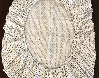 Organic Crib Sheet / Custom Made to Order / Organic Fitted Crib Sheet