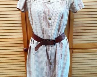 Vintage shift dress