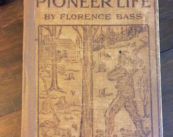 Handbound journal with antique book cover
