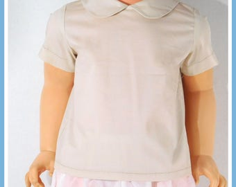 Peter Pan Collar Shirt, Baby Peter Pan Collar, Baby Boy Peter Pan Shirt