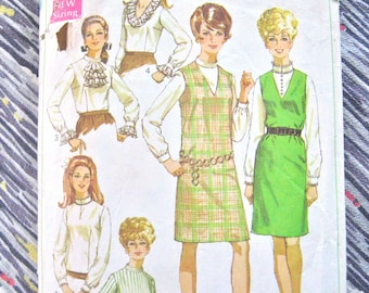 """Vintage 60's Simplicity 7765 sewing pattern  Bust 34"""""""
