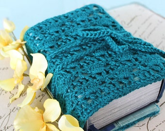 CROCHET PATTERN PDF - Instant Download - Sewing Pattern - Book Cover for All Sizes