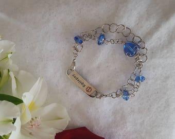 Interchangeable I'D bracelet