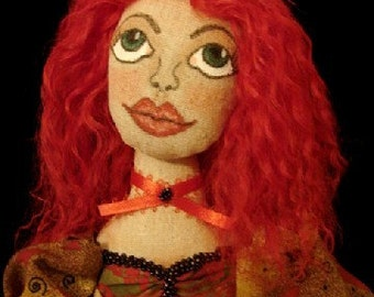 Art Doll-ROSIE ELAINE-The Valentine Sweetheart (Made to Order by request)