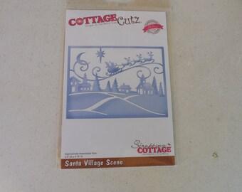 CottageCutz Santa Village Scene Die