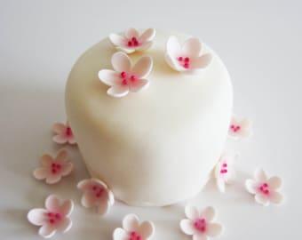 edible sugar x-small cherry blossoms