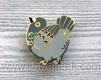 Pigeon Butt Hard Enamel Pin - Pigeon Pin