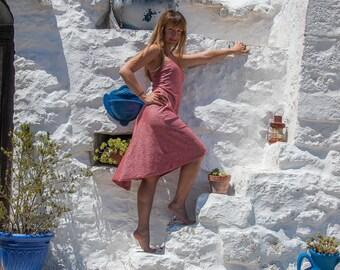 Tango dress Brindisi, Coral, Gr. s
