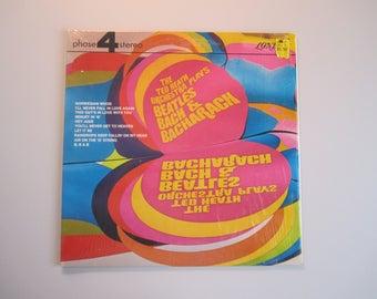 Beatles Bach & Bacharach - Ted Heath Orchestra - Vintage Gatefold Vinyl Record Album - Still in Shrinkwrap - London Phase 4 Stereo - 1970