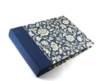 Photo Album Renaissance Flower blue