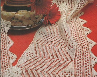 pdf pattern knitting lace in ITALIAN