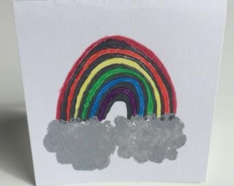 Rainbow mini cards