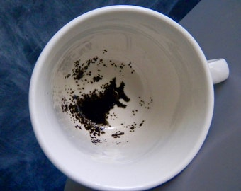 The Grim inspired tea cup