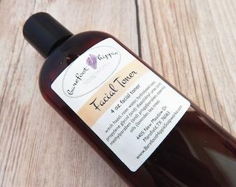 Rose de rose Facial Toner - toner - toner pour le visage de la facial toner - régime de soins de la peau - du vegan du toner - toner de l'eau de rose - - hamamélis facial toner