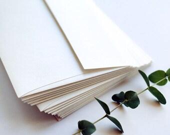 50 Ivory Shimmer Quartz RSVP Envelopes