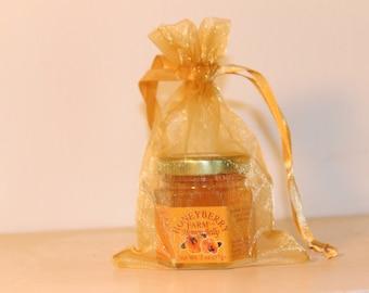 Gold Organza Bag for 2oz Jars