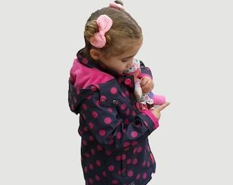 Pink crochet hair bow, girls hair bow, pink hair bow clip, Crochet pink bow clip, Cute hair bow, Girl's hairbow, Sock bun bow, baby hair bow