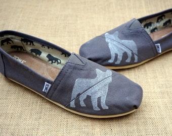 Boston Terrier Custom TOMS Shoes