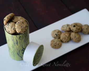Sesame Seaweed Cookie