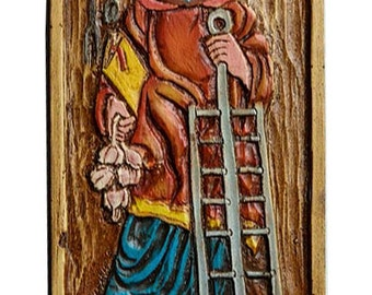 Patron Saint of Cooking Saint Lorenzo Kitchen Wall Decor