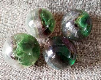 Best Fluorite Sphere/Fluorite Balls/Fluorite Crystal Sphere(Size:20mm,30mm,40mm,50mm,60mm,70mm,80mm,90mm,100mm,Custom Size)