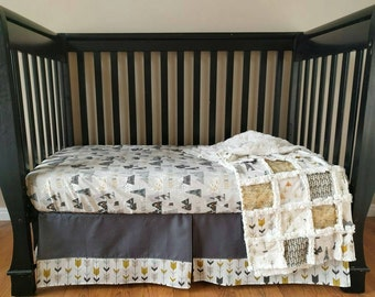 Mountain Adventure Crib Bedding