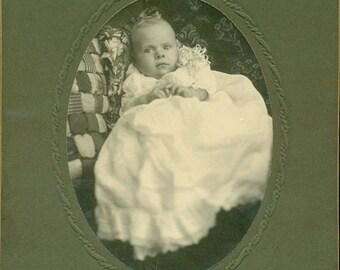 Antique Photos Identified As PATRICK RYAN Murray, Kentucky - Infant Figural