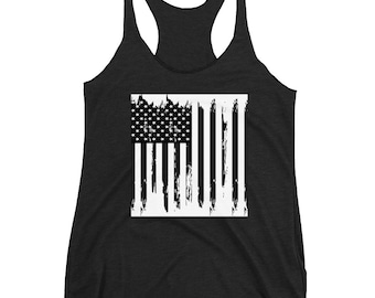 American Flag Tank Top 4th of July Memorial Day