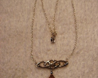 Necklace Sterling Silver Celtic Heart 1