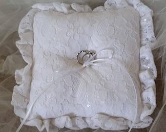 Elegant Ring Bearer Pillow
