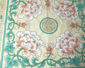Art Deco Cloth Napkins Two (2)