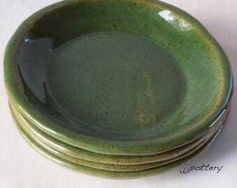 Pottery, Pottery Plates, Stoneware Plates, Dinnerware, Dinner plates, Handmade plates, ceramic dinner plates, pottery dinnerware Salad plate